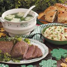Traditional St. Patrick's Day Meal
