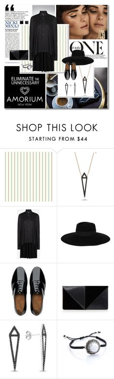 """Jewels mon amour series#8 Amorium.com"" by undici ❤ liked on Polyvore featuring Nicki Minaj, York Wallcoverings, Amorium, Y-3, Maison Michel, FitFlop and UN United Nude"