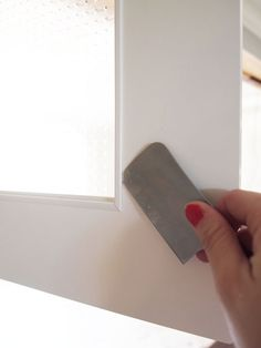 Replace Ikea Adel Cabinet Door Glass With Clear Glass | Cape27Blog.com