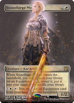 Magic The Gathering Stoneforge Mystic Proxy