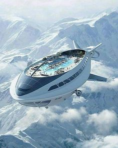 Cruise ship in the future.  Lol