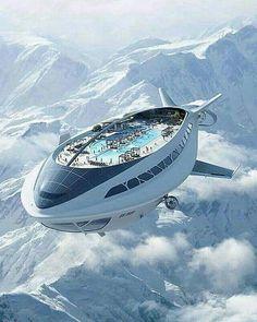 Cruise ship in the future.  Lol