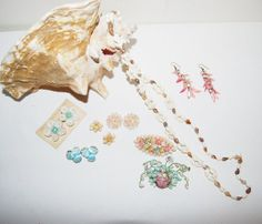 Vintage Shells from The Sea Jewelry by CheekyVintageCloset on Etsy, $28.00