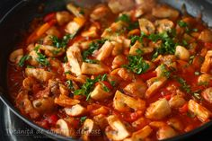 Vegetarian Recipes, Cooking Recipes, Healthy Recipes, Romanian Food, Kung Pao Chicken, Chana Masala, Food And Drink, Ethnic Recipes, Foods