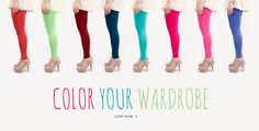 Hellolilo Colorful Leggings. For more fun and exciting leggings, visit us at hellolilo.com.