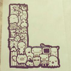 letter L by iamsuperjamie.deviantart.com on @deviantART