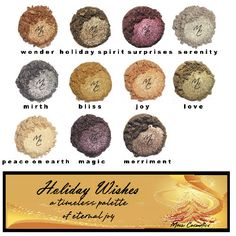 Holiday Wishes Color Collection from Meow Cosmetics