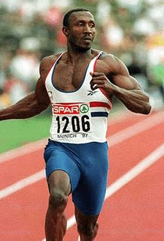 Linford Christie participant a Munich Carl Lewis, Long Jump, High Jump, Usain Bolt, Olympic Sports, Olympic Games, Triple Jump, American Athletes, The Sporting Life