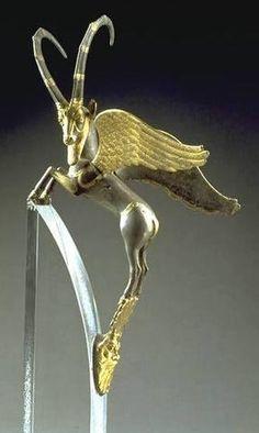 iranian achaemenid gold/silver