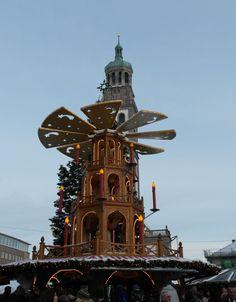 #Weihnachtsmarkt #Augsburg #Bayern Wow I remember that