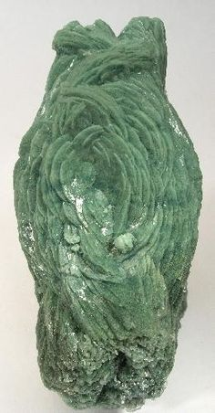 Huelandite with Caledonite / Nasik District, Maharashtra, India