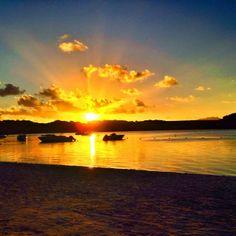 Amazing sunset at Shandrani Resort & Spa, Mauritius. Photo by @lee_fly