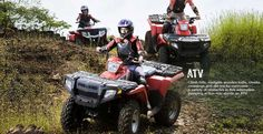 Climb hills, navigate wooden trails, creeks, crossings and dirt tracks overcome a variety of obstacles in this  adrenaline pumping action ride abode an ATV.
