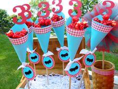 Treats at a Sesame Street Party #sesamestreet #partytreats