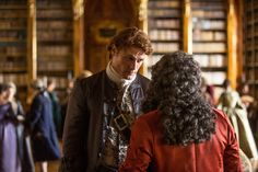 *New* HQ Pics of Sam and Cait from Outlander Episode 203