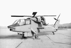 Advanced Attack Helicopter program contenders: 1972-1976. Following the cancellation of the Lockheed AH-56 Cheyenne in 1972, a new program was authorized by the US Army to find a replacement for the Bell AH-1 Cobra. The Hughes YAH-64 Apache (Photo #1) came out as the winner of that contest, having flown against the Bell YAH-63 (Photos #2 - 4) during 1975 and 1976. Additional entrants, which did not make the final fly-off, were the Sikorsky S-67 Blackhawk (Photos #5-6), the Lockheed CL-1700…