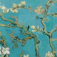 Almond Blossom - Van Gogh Museum  Van Gogh painted this sparkling still life of delicate almond blossom against a clear blue sky for his new-born nephew Vincent Willem. His brother Theo wrote, in the letter announcing the new arrival: 'As we told you, we'll name him after you, and I'm making the wish that he may be as determined and as courageous as you.'