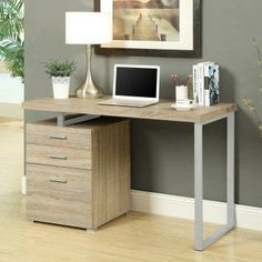 Monarch 48 in. Reclaimed-Look Left or Right Facing Desk.