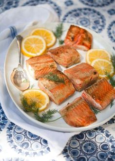 #Recipe: Mustard-Glazed Salmon