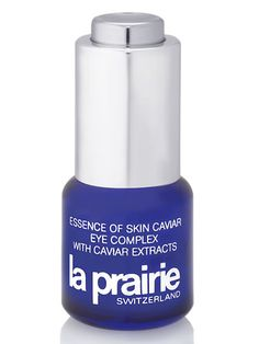 RealBeauty.com's Best Eye Products: La Prairie Essence of Skin Caviar Eye Complex  Treat your eyes to the finer things in life with this essence of caviar elixir that doubles as a primer for long-lasting eye makeup.