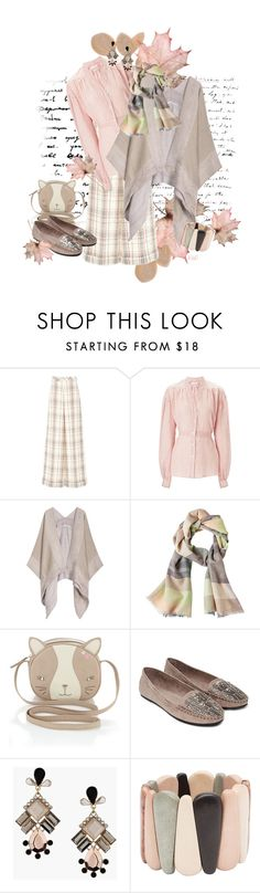"""Pastel Plaid Autumn"" by kateo ❤ liked on Polyvore featuring Delpozo, Wunderkind, Emporio Armani, FOSSIL, Monsoon, Forever 21, Topshop, Witchery and 5655"