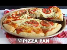Pizza pan (massa do pizza hut) Pizza Hut Pan Pizza, Pizza E Pasta, Mini Pizzas, Outback Bread, Pizza Recipes, Cooking Recipes, Confort Food, Special Recipes, Easy Cooking