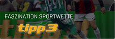 Seit der erste Wettschein am 24. August 2001 in Wien gespielt wurde, ist tipp3 zum Inbegriff der österreichischen Sportwette geworden. Jährlich werden im Schnitt rund 5 Millionen Wetten unter der Marke tipp3 an den mehr als 3.600 Annahmestellen in ganz Österreich sowie über das Internetportal www.tipp3.at abgegeben. Seit 2009 bietet tipp3 auch Geschicklichkeitsspiele (Schnapsen, Backgammon, Rommé, Jolly etc.) im Internet an. Der Bekanntheitsgrad der Marke tipp3 liegt aktuell bei 67 Prozent. Backgammon, Signs, Sports Betting, Landing Pages, Round Round, Shop Signs, Sign