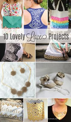 10 Lovely Lace Projects