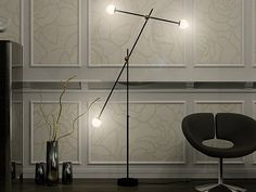Direct light floor lamp T-3 by Intueri Light