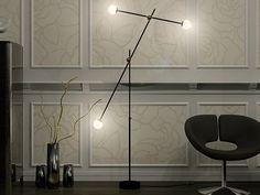 Lampada da terra a luce diretta T-3 by Intueri Light