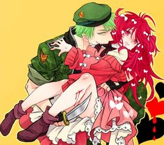 Photo of Flippy x Flaky for fans of Human Happy Tree Friends.