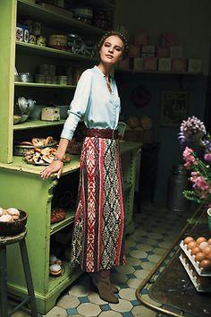 Fairisle Sweater Skirt