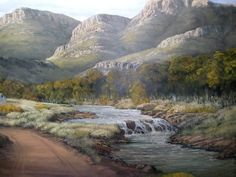 River, Mountains, Nature, Outdoor, Outdoors, Naturaleza, Outdoor Games, Nature Illustration, The Great Outdoors