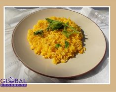 AWESOME SAFFRON RICE