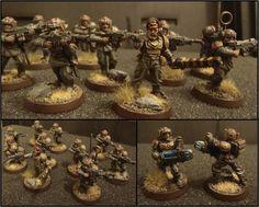 Cadians, Imperial Guard, Shock Troops, Troops