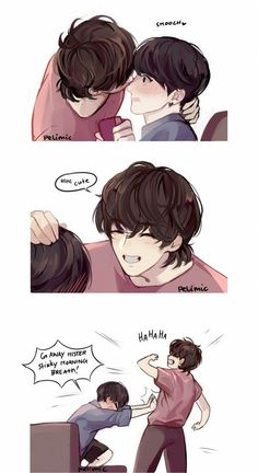 "Taekook "" Sweet Morning "" part 3 Vkook Fanart, Jungkook Fanart, Jimin Jungkook, Taehyung, Taekook, Namjin, Vkook Memes, Naruto Sasuke Sakura, Fanarts Anime"