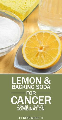 nutrition healthy food weight loss fitness tips Lemon and Baking Soda – Powerful Healing Combination for Cancer. Natural Cancer Cures, Natural Home Remedies, Health Remedies, Herbal Remedies, Health Tips, Health And Wellness, Healthy Life, Healthy Living, Healthy Food
