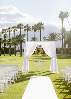 8 decoración altar boda aire libre