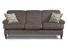 Shop for Flexsteel Sofa, 5654-31, and other Living Room Sofas at The Hanley Collection in Spokane, WA. Comes standard with Luxury Cushion. Plush and High Resiliency Cushion option also available. Contrast welt option available. Standard wood finish Florentine (F).