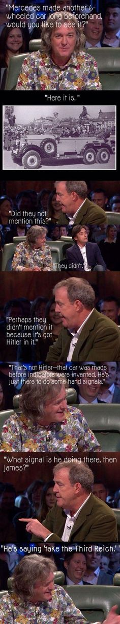 """When James May tried to give Mercedes the benefit of the doubt. 