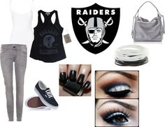 """""""Raider Nation"""" by lvangie83 on Polyvore"""