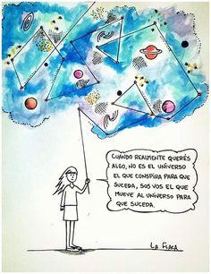 vos el que mueve al universo