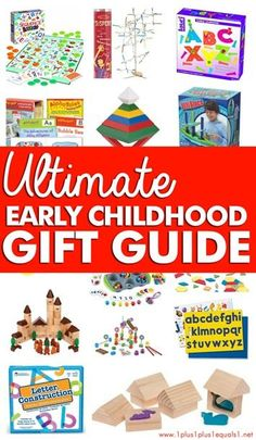 Early Childhood Gift Guide  ~ Especially for Homeschoolers