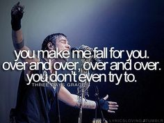 Over and Over ~ Three Days Grace #lyric