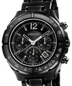 Versace   DV One Chrono COSC Watch   Keramik