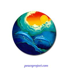 Spiritual Images, Om Symbol, Window Art, Window Stickers, Dolphins, Painted Rocks, Design Elements, Stained Glass, Decals