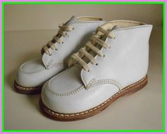 Baby Leather Hi Top Shoes Walking Ankle Shoes By Baby Deer. New Over The Knee High Boots Women Flat Heel Lace Back . Home and Family Leather High Tops, White Leather, Baby Shoe Sizes, Shoe Clips, Hiking Shoes, Vintage Shoes, Combat Boots, Nike Shoes, Baby Shoes