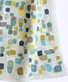 Sophie Digard ~ On the Way Home ~ Embroidered Linen Textiles, The Way Home, Fiber Art, Kids Rugs, Flooring, Embroidery, Quilts, Blanket, Sewing