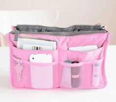 여행 삽입 핸드백 주최자 지갑 대형 라이너 주최자 깔끔한 가방 BAOK-6112