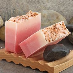 Pink Grapefruit Handcrafted Shea Butter Cold Process Soap Bar